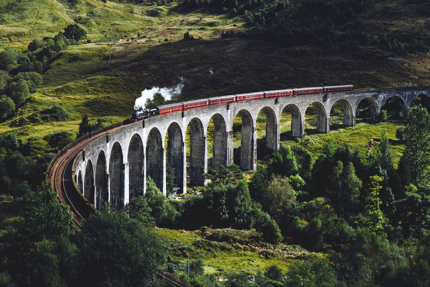 Eight Christmas Movies To Watch With The Family Glenfinnan Viaduct Jack Anstey Xvoyx7L9Ocy Unsplash